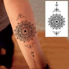 1 Pièce Tatouage Sticker Imperméable Temporaire Decal de Fleur Art Corporal