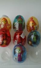 2 rubber figures dolls MASHA AND THE BEAR  in plastic surprise eggs doll  toy