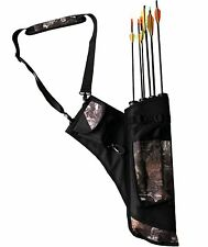 Camo Bow Bag Archery Arrow Quiver Traditional Archery Supplies Pouch For Arrows