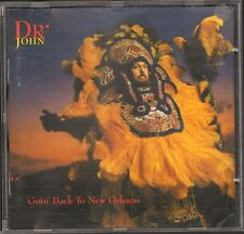 DR JOHN Goin' Back to New Orleans CD 18 track BOOKLET 16 page 1992