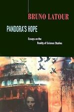 Pandora's Hope: Essays on the Reality of Science Studies, Bruno Latour, Good Boo