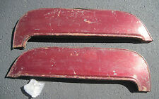 1955 Chevrolet Fender skirts original pair with new rubber seals