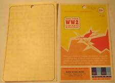 WW2 His Air Dec 1:72 Scale German National Insignia Simplified, Heavy Stroke