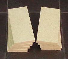Dovre 500 Stove Fire Bricks, Pack of 8 Vermiculite Fire Bricks for Dovre 500