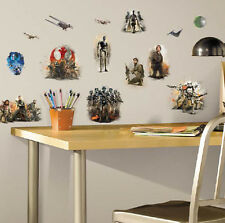 STAR WARS ROGUE ONE wall stickers 20 decals Rebels Death Star starships