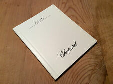 Used in shop - Folleto Booklet CHOPARD - Jewels - Instructions Booklet