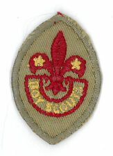 1960's CANADA / CANADIAN SCOUTS - BOY SCOUT TENDERFOOT Rank Award Badge