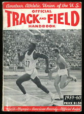 1959-60 AAU Official Track and Field Handbook