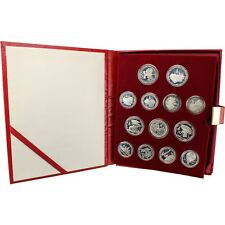 28-pc. 1980 Russia Silver Olympic Proof Coin Collection