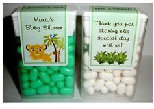 14 BABY SIMBA LION KING BABY SHOWER FAVORS TIC TAC LABELS ~ PERSONALIZED