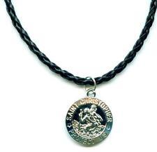 Christopherus Halskette Necklace Saint Christopher Anhänger Schmuck M