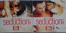 Summer Seduction Vol 1 & 2 Music Compilation CD feat. The Chill Seekers, Delux