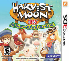 Harvest Moon: A New Beginning 3DS New Nintendo 3DS, nintendo_3ds