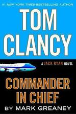 Jack Ryan: Tom Clancy Commander in Chief 16 by Mark Greaney (2015, CD, Unabridg…