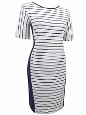 Marks&Spencer m&s  Striped Tunic Sweater Dress 12