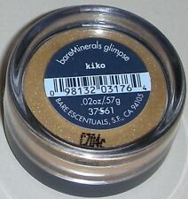 Bare Escentuals KIKO Eye Shadow .57g New & Sealed (Butterscotch)