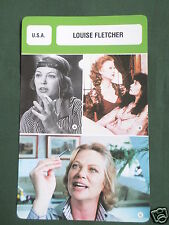 LOUISE FLETCHER - MOVIE STAR - FILM TRADE CARD - FRENCH