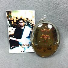 Carve 3 Face Phra Ngang Oil Ajahn Tawee Powerful Love Charm Sex Amulet Thai ##