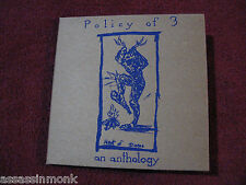 POLICY OF 3 An Anthology 2x CD Ebullition Torches To Rome Ampere Rites Of Spring