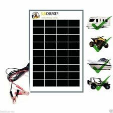 20W 12V SOLAR PANEL & REGULATOR -BEST GERMAN CELLS- CHARGER PORTABLE WATT 10 40