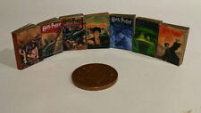 Harry Potter books (non UK version) for dolls house x 7 1:12th scale SALE!!!!!