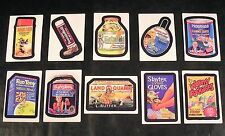 2008 Topps Wacky Packages Flashback Series 1 LENTICULAR MOTION CARDS SET of 10