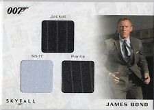 JAMES BOND AUTOGRAPHS & RELICS STC4 DANIEL CRAIG LONDON TRIPLE COSTUME 087/200