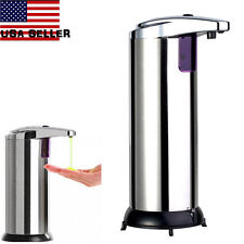 Touchless Motion Activated Soap Dispenser - Stainless Steel Body  US EA