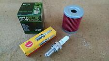 Tune up Kit Suzuki King Quad 300 Quadrunner 250 LT-F Oil Filter Spark Plug