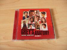CD Soundtrack Grey`s Anatomy Volume 2 - 2006 - Snow Patrol KT Tunstall The Fray