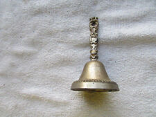 "Vintage Metal Bell 3 1/2"" Tall x 2 7/8"" Round"