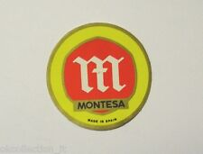 VECCHIO ADESIVO MOTO / Old Sticker Vintage MONTESA TRIAL CROSS (cm 4,5)