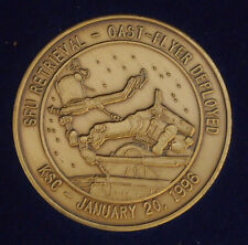 January 11, 1996 STS-72 Endeavour SFU Retrieval Oast Flyer Deployed KSC COIN