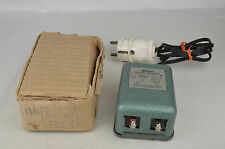 Schuco Siemens Schuckert 220V Transformer Western Germany 1950's-60's NM W/Box