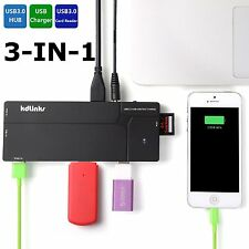 KDLINKS Ultra Slim 10-Port USB 3.0 All In One Hub Station Charger SD Card Reader