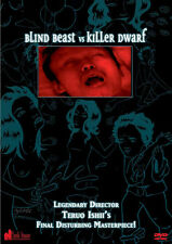 Blind Beast vs Killer Dwarf (DVD) Teruo Ishii NEW