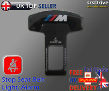 Seat Belt Alarm Buckle Fits BMW M SERIES Logo Safety Clasp Insert Cancel Buzzer
