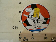 STICKER,DECAL DAF PARTS BLADVEREN