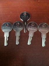 EZGO Golf Cart Gas & Electric keys 82+ Including TXT, RXV (set of 5) New Parts