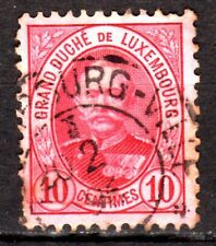 Luxembourg - 1891 Definitives Adolf - Mi. 57A (perf. 11,5) VFU