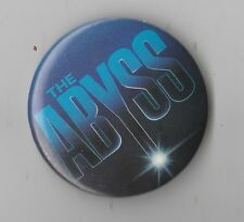 Vintage The Abyss Movie Promo Pin Button Pinback