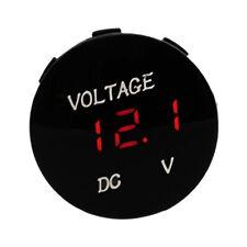 DC 12V LED Panel Digital Voltage Meter Display Voltmeter Gauge Car Motorcycle