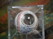 Leroy Neiman Signed Autographed Auto bat dinner ball signed 12 sigs