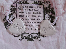 """Juicy Couture Drawstring Fairytale Storage Dust Bag Pink 16"""" x 14"""" USED"""