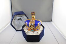 Royal Crown Derby One Hundred Royal Years Crown + Original Blue Felt Box. As New