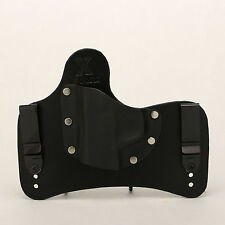 FoxX Holsters Leather & Kydex IWB SOB Hybrid Holster Taurus 24/7 Black Right