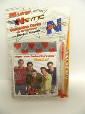 Nsync Boy Band Valentines 2000 - 36  Large Valentines - Sealed Package - RARE