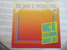 MC B. featuring Daisy Dee - This Beat is Technotronic