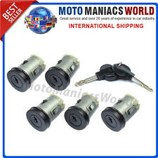 FIAT SCUDO CITROEN JUMPY PEUGEOT EXPERT 1994-2007 Door Lock Barrel LockSet 5 Pcs
