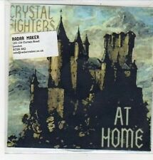 (CZ230) Crystal Fighters, At Home - 2011 DJ CD
